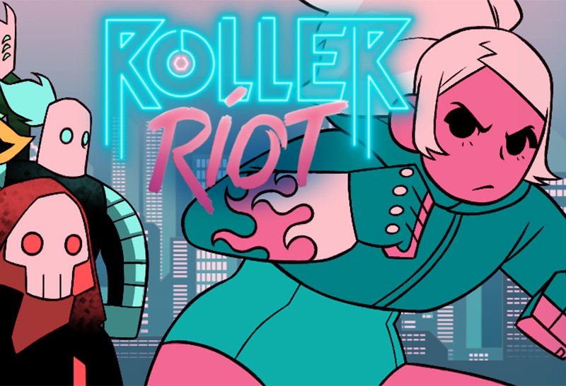 Roller Riot Homepage Screenshot